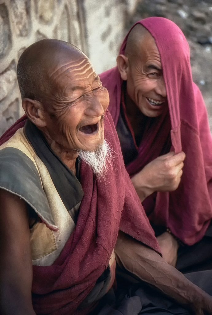 old men laughing